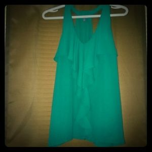 Dress top with ruffles